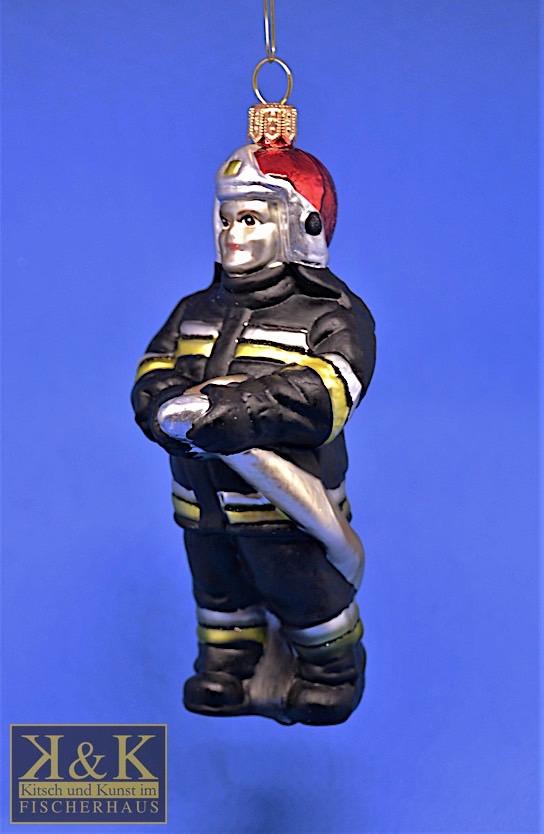 Feuerwehrmann schwarz