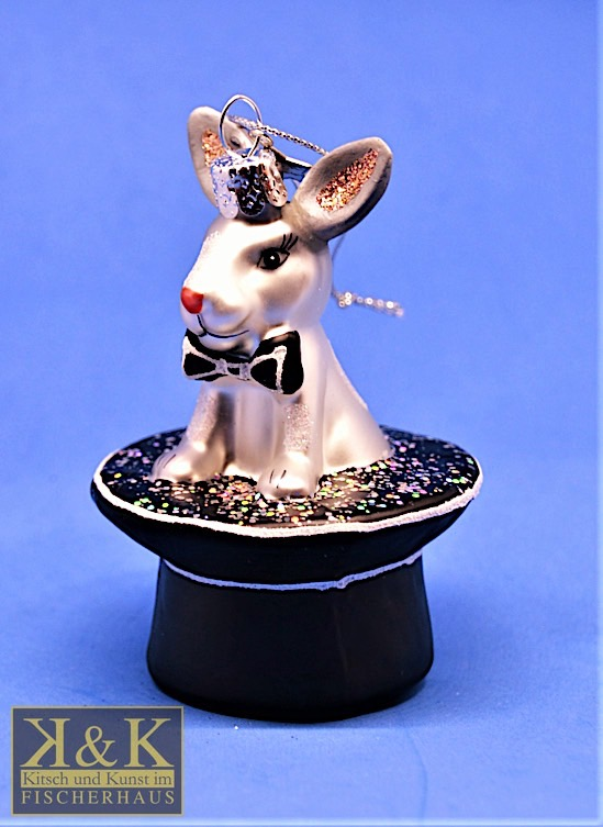 Kaninchen im Zaubererhut