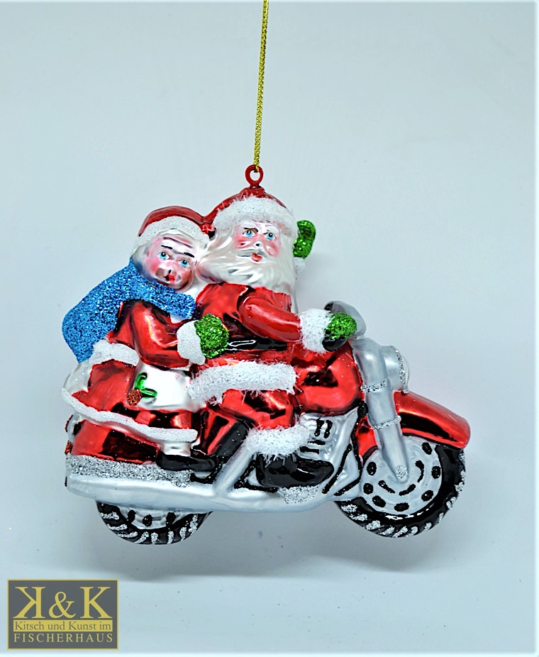 Weihnachstmann und Weihnachtsfrau