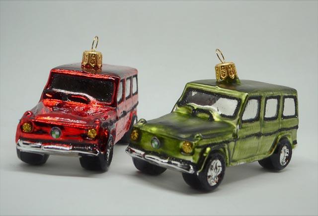 Auto Puch G rot und grün