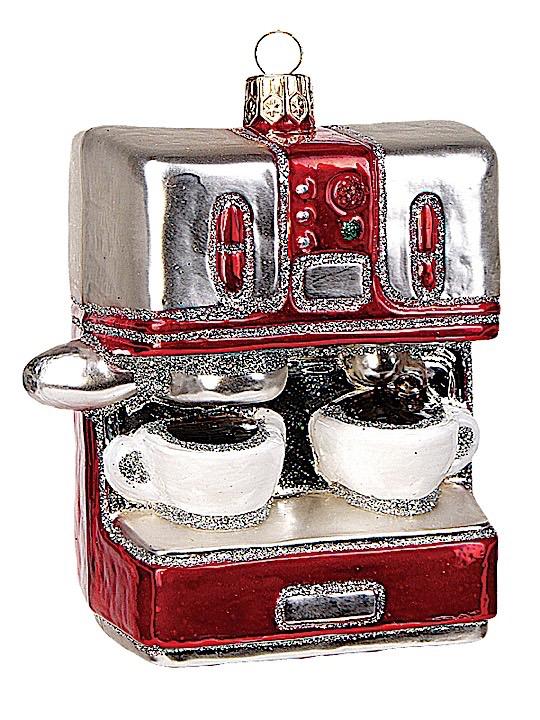 Espressomaschine rot