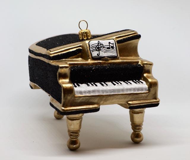 Klavier-Flügel schwarz