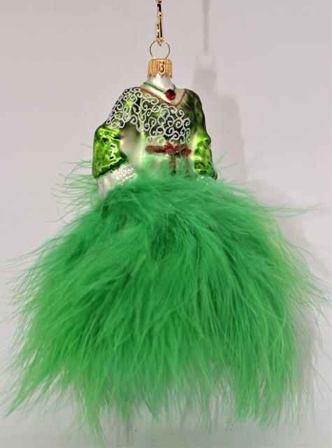 Kleid Grun