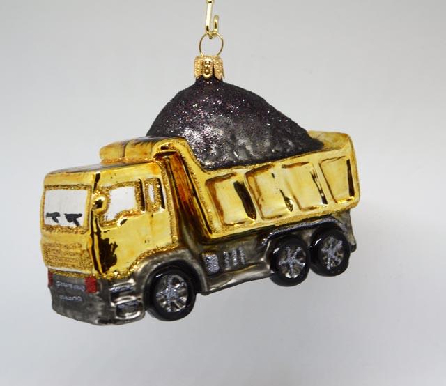 LKW Kipper gold