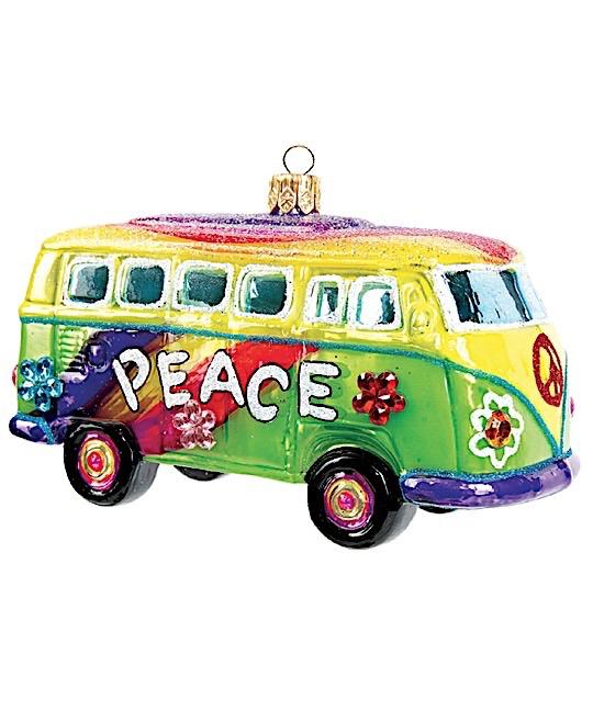 Bus 1950 Hippie-Style