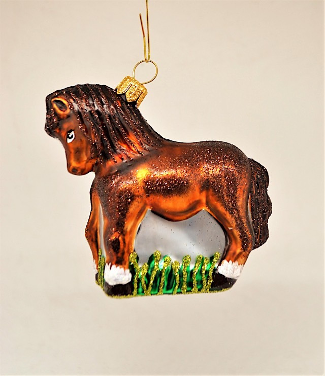 Pferd braun klein