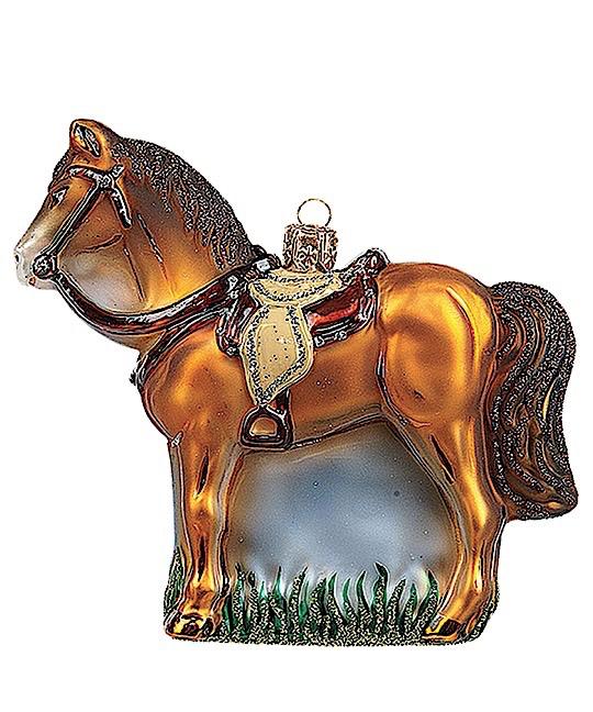 Pferd Braun