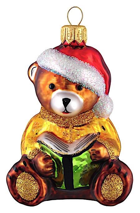 Teddybär mit Buch