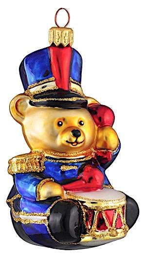 Teddybär mit Trommel